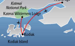 Bärenbeobachtung: Katmai Wilderness Lodge